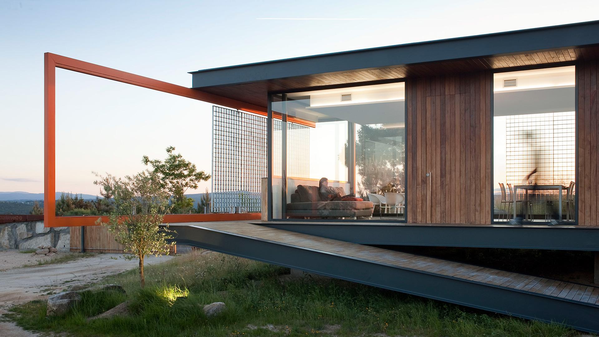Diseño O Chafarico refugio Ourense Galicia